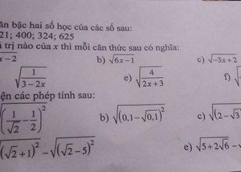 Căn bậc hai của một số là gì? Những phương pháp giải hiệu quả nhất