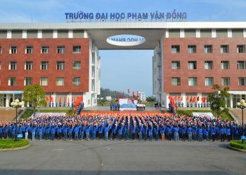 Tuyển sinh Đại học Phạm Văn Đồng năm 2021