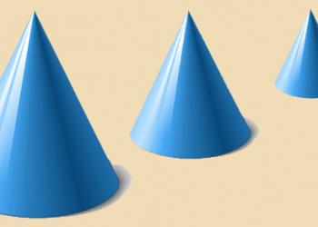 Cách tính diện tích bề mặt của hình nón đơn giản nhất