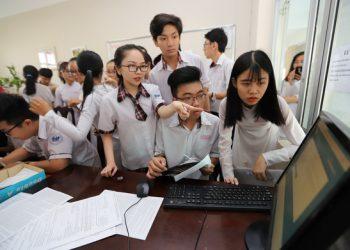 Thí sinh được đăng ký nguyện vọng xét tuyển bằng hình thức trực tuyến