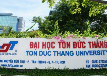 Thông Tin Mới nhất Đại học Tôn Đức Thắng 2021
