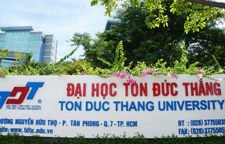 Đại học Tôn Đức Thắng có khuôn viênrộng lớn