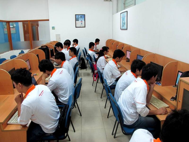 Cơ sở vật chất của Đh Tài Nguyên và Môi Trường Hà Nội