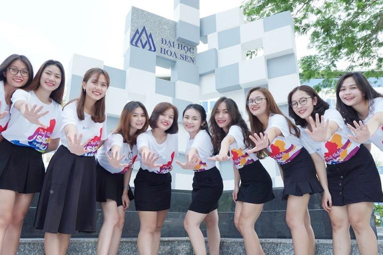 Sinh viên ĐH Hoa Sen