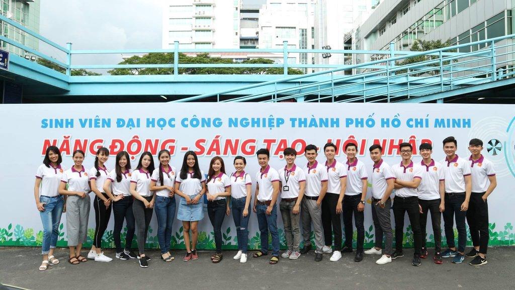 Sinh viên Trường ĐH Công nghiệp TPHCM
