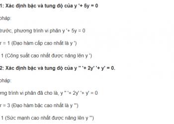 Phương trình vi phân cho lớp 12 là gì? Xem xong hiểu luôn.