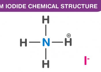Công thức amoni Iodide là gì ? Cùng tìm hiểu nó.