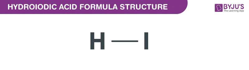 Công thức axit hydroiodic