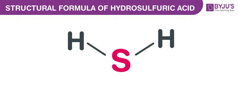 Công thức axit hydrosulfuric