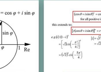 Công thức của Euler và Định lý De Moivre là gì? Xem xong hiểu luôn.