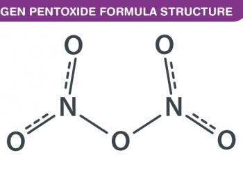 Công thức Dinitrogen Pentoxide là gì ? Cùng tìm hiểu về nó.