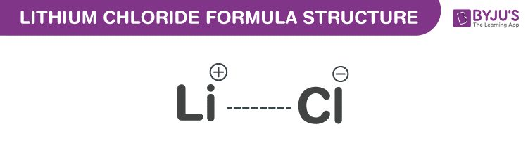 Công thức Lithium Clorua