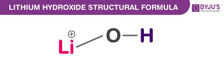 Công thức Lithium Hydroxide