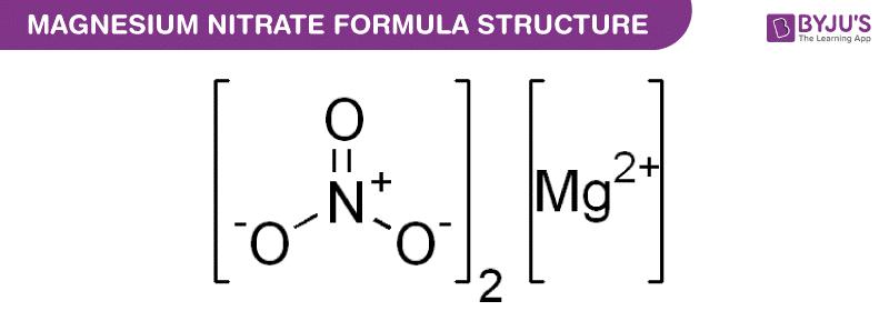 Công thức Magnesium Nitrate
