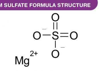 Công thức Magnesium Sulfate là gì ? Cùng tìm hiểu về nó.