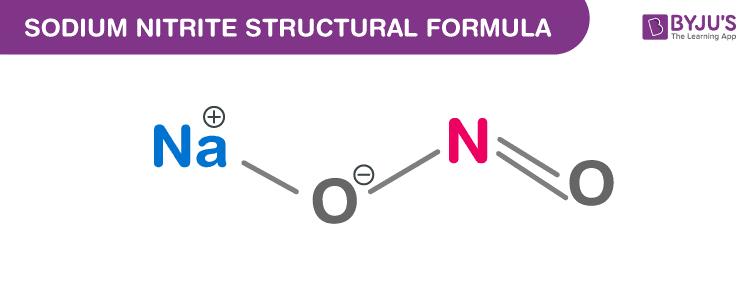 Công thức natri nitrit