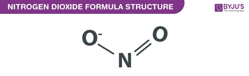 Công thức Nitrogen Dioxide