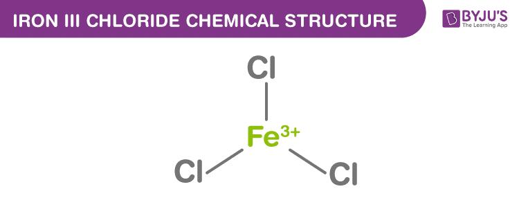 Công thức sắt III clorua