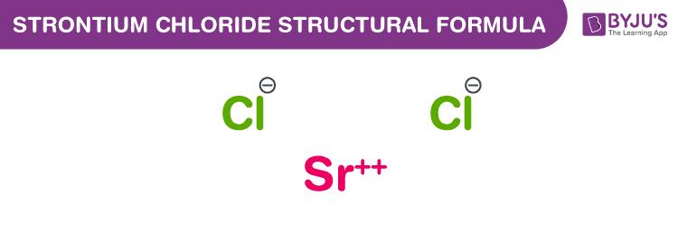 Công thức stronti clorua