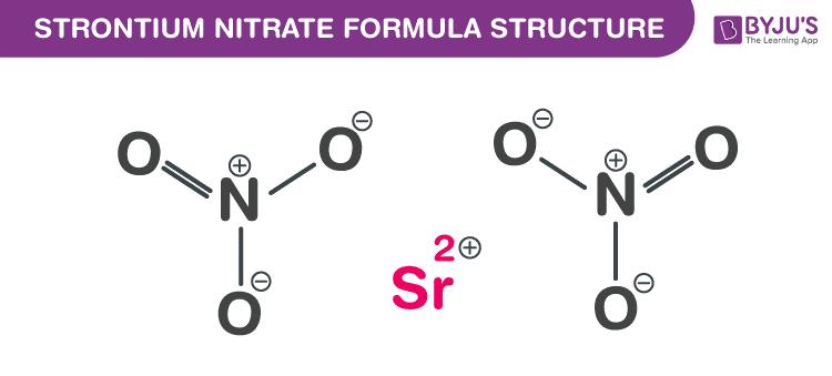 Công thức Strontium Nitrate