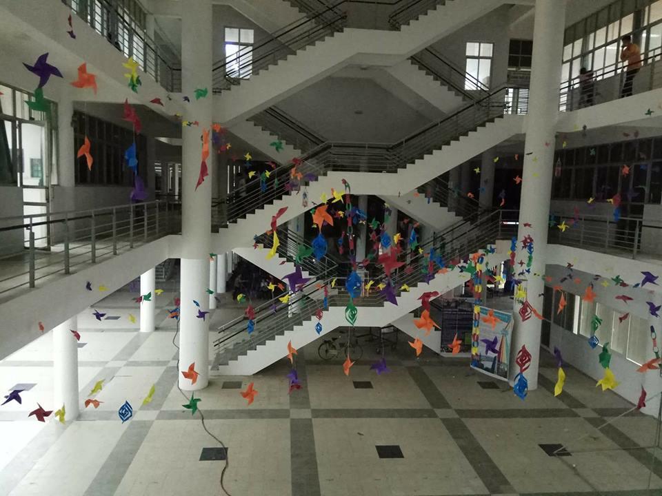 Cơ sở vật chất ở Đại Học Xây Dựng Hà Nội