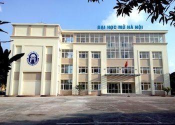 Điểm chuẩn Trường Đại học Mở Hà Nội mới nhất 2021
