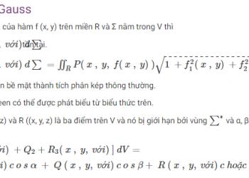 Định lý Green là gì? Xem xong 5 phút hiểu luôn.