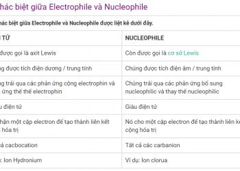 Electrophile và Nucleophile xem qua 5 phút hiểu luôn