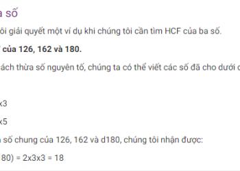 HCF của hai số là gì? Xem xong 5 phút hiểu luôn.