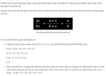 Làm thế nào để đơn giản hóa phân số? Xem xong 5 phút hiểu luôn
