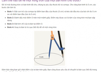 Làm thế nào để vẽ một vòng tròn hoàn hảo? Xem xong 5 phút hiểu luôn.