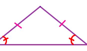 Công thức tính diện tích tam giác cân là gì? Giải thích và có ví dụ