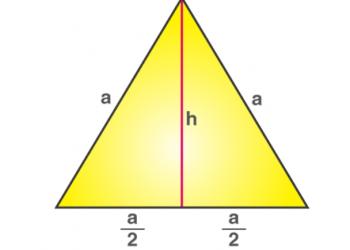 Diện tích tam giác đều