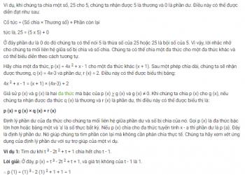 Định lý Phần dư và Đa thức là gì? Xem xong 5 phút hiểu luôn.