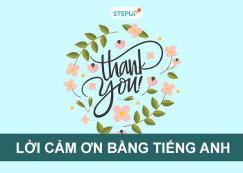 Lời cảm ơn bằng tiếng Anh hay và ý nghĩa dành cho mọi người