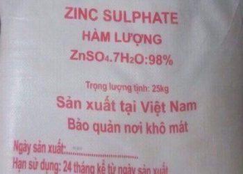 Tính chất và công dụng của  Kẽm sunfat (ZnSO4) chi tiết nhất
