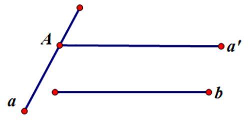 Công thức của góc giữa 2 đường thẳng trong không gian