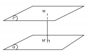 Công thức Khoảng cách giữa 2 mặt phẳng