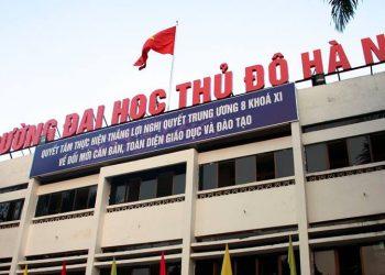 Đại học Thủ Đô Hà Nội: Tuyển sinh, điểm chuẩn mới nhất năm 2021