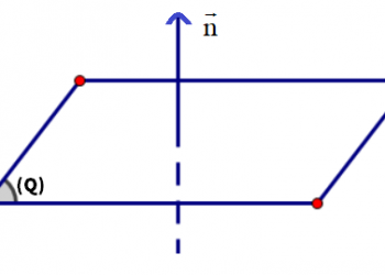 Vecto pháp tuyến và vecto chỉ phương