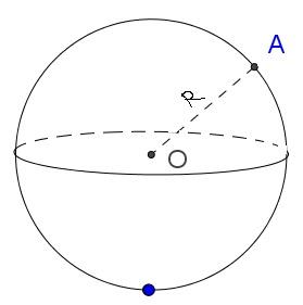 Công thức tính Thể tích khối cầu