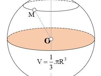 Diện tích mặt cầu thể tích khối cầu