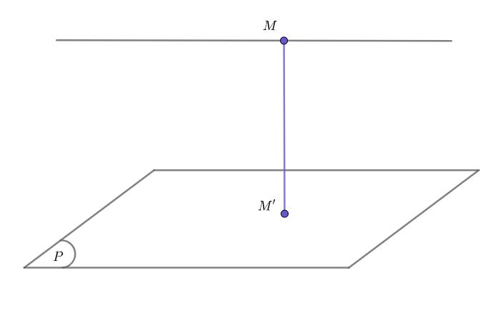 Khoảng cách giữa đường thẳng và mặt phẳng